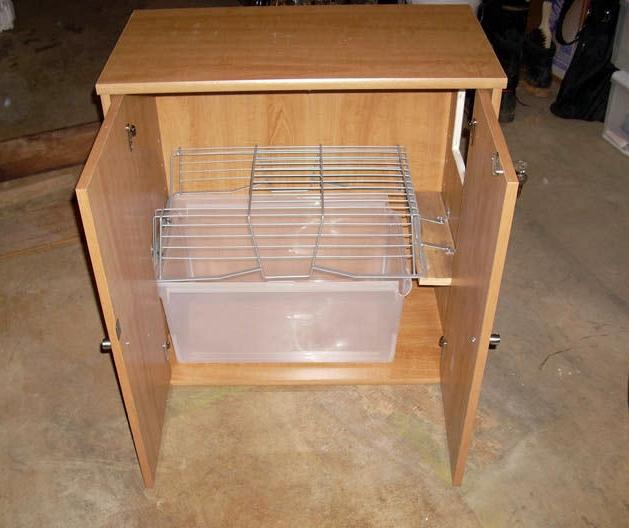 Diy Storage Cabinet Litter Box